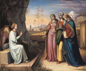 Drei Marien am Grab